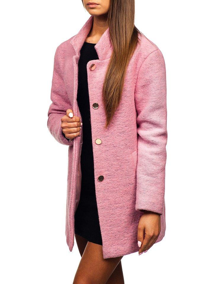 Жіноча пальто рожеве Bolf 1950 РОЖЕВИЙ f7702951963ad