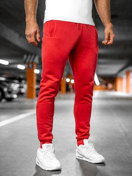 Брюки мужские спортивные светло-красные Bolf XW01