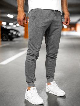 Графитовые мужские тренировочные брюки Bolf 68K10001