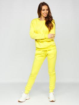 Желтый женский спортивный костюм Bolf 0001