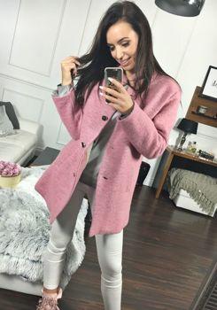 Женское пальто розовое Bolf 1950