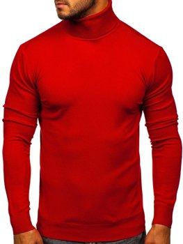 Красная мужской свитер гольф Bolf YY02