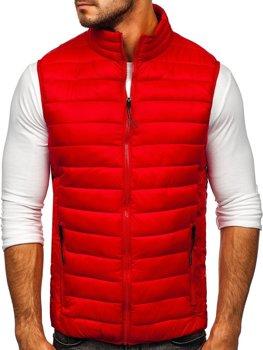 Красный стеганый мужской жилет Bolf HDL88001