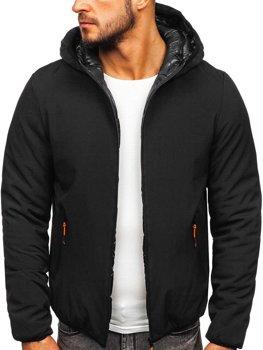 Куртка мужская зимняя черная Bolf R1271