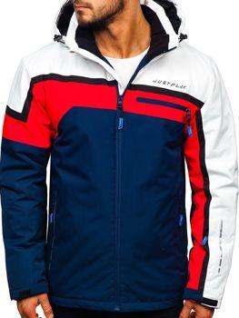 Куртка мужская лыжная красная Bolf 1339