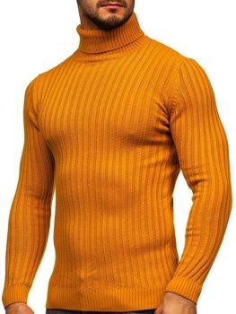 Кэмел мужской свитер гольф Bolf 4602