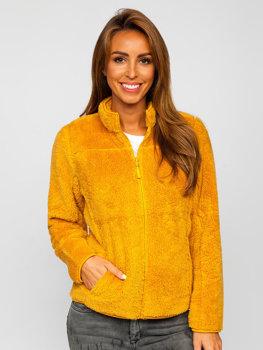 Кэмел флисовая женская куртка Bolf HH006