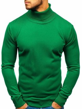 Мужская водолазка зеленая Bolf 2400