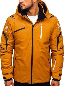 Мужская лыжная куртка кэмел Bolf 5941