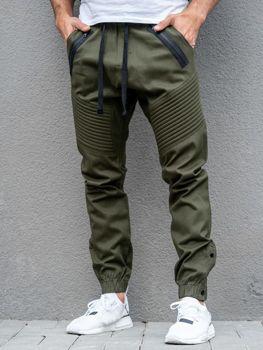 Мужские брюки джогеры хаки Bolf 0952