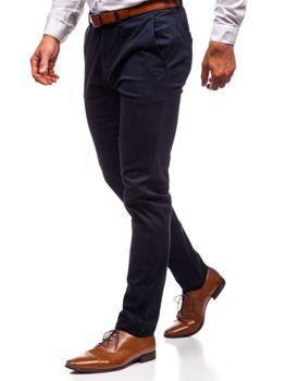 Мужские брюки чинос темно-синие Bolf 1120