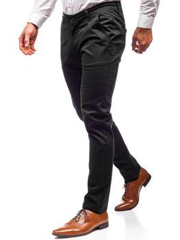 Мужские брюки чинос черные Bolf 2901
