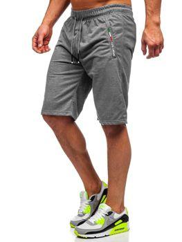 Мужские графитовые пляжные шорты Bolf JX369