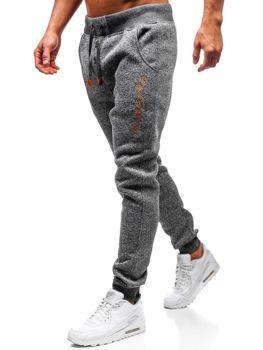 Мужские спортивные брюки багги графитовые Bolf Q3507