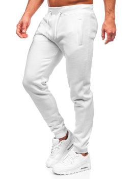 Мужские спортивные брюки белые Bolf XW01-A