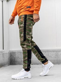 Мужские спортивные брюки камуфляж мультиколор Bolf 3783B