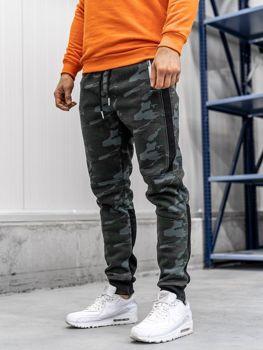 Мужские спортивные брюки камуфляж мультиколор Bolf 3783D