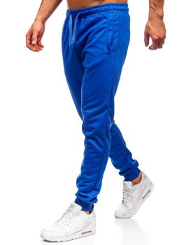 Мужские спортивные брюки кобальтовые Bolf JZ11001