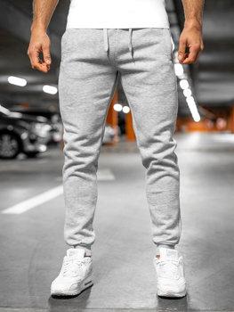 Мужские спортивные брюки  серые Bolf XW01