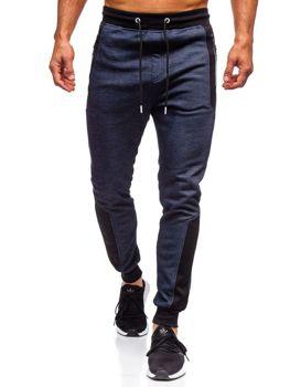 Мужские спортивные брюки темно-синие Bolf TC849