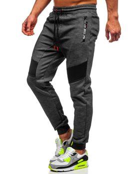 Мужские спортивные брюки черные Bolf TC878