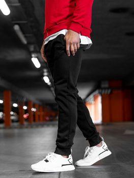 Мужские спортивные брюки черные Bolf XW03