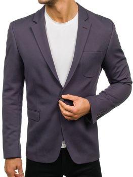 Мужской пиджак графитовый Bolf276