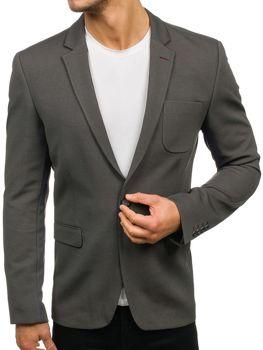 Мужской пиджак зеленый Bolf276