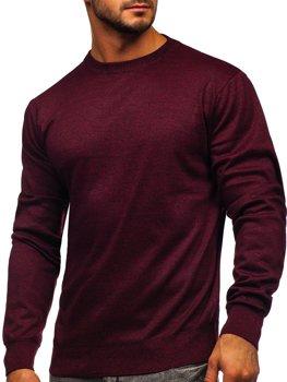 Мужской свитер бордовый Bolf GFC01