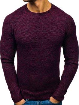 Мужской свитер бордовый Bolf H1810