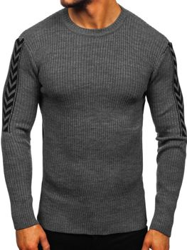 Мужской свитер графитовый Bolf 360