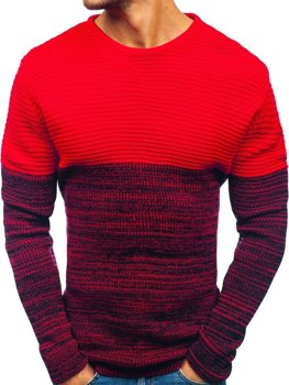 Мужской свитер красный Bolf 164