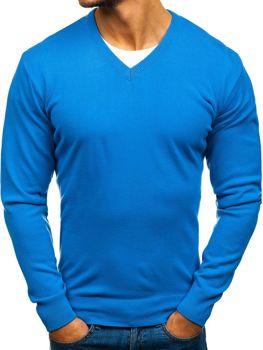 Мужской свитер синий Bolf 200