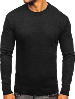 Мужской свитер черный Bolf 0001