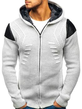 Мужской свитер экрю Bolf 20009
