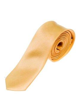 Мужской элегантный галстук оранжевый Bolf K001