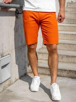 Оранжевые мужские шорты Bolf 1140