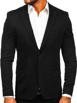 Пиджак мужской элегантный черный Bolf SR2003