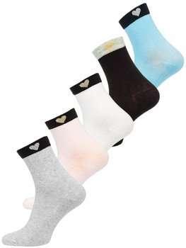 Разноцветные женские носки Bolf X20305-5P 5 PACK