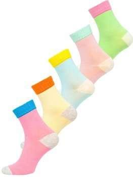 Разноцветные женские носки Bolf X20328-5P 5 PACK