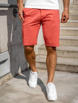 Розовые мужские шорты Bolf 1140