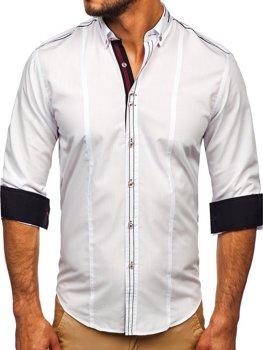 Рубашка мужская BOLF 4707 белая