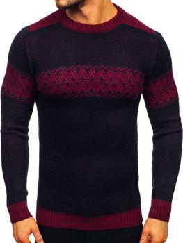 Свитер мужской темно-бордовый Bolf 1806