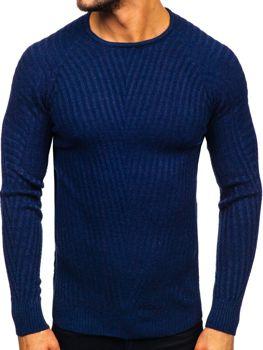 Свитер мужской темно-синий Bolf 285