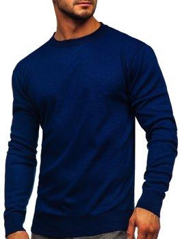 Свитер мужской темно-синий Bolf GFC01