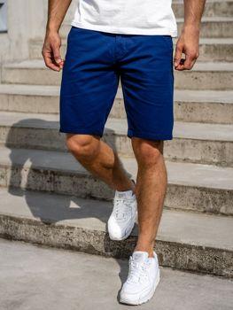 Синие мужские шорты Bolf 1140