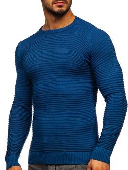 Синий мужской свитер Bolf 4608