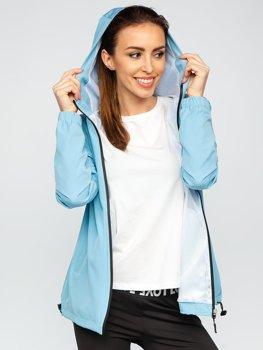 Синяя куртка женская ветровка переходная спортивная Bolf HH036