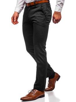 Черные мужские брюки чинос Bolf KA1786P