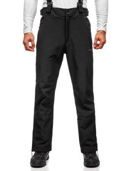 Черные мужские лыжные брюки Bolf BK159